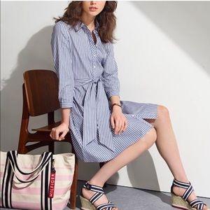 [Tommy Hilfiger] Striped Shirt Dress Size 6